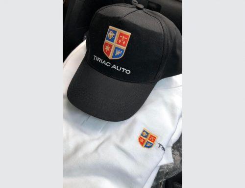 custom t-shirt and cap